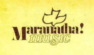 Maranatha! Music - Image: Maranatha Music
