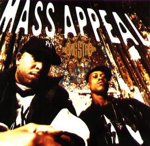 Mass Appeal (song) - Image: Mass Appeal by Gang Starr artwork