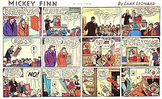 <i>Mickey Finn</i> (comic strip)