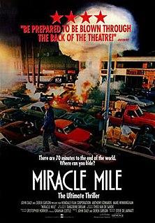 <i>Miracle Mile</i> (film) 1988 film by Steve De Jarnatt