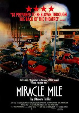 Miracle Mile (film) - Theatrical release poster