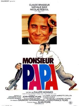Monsieur Papa (1977 film) - Film poster