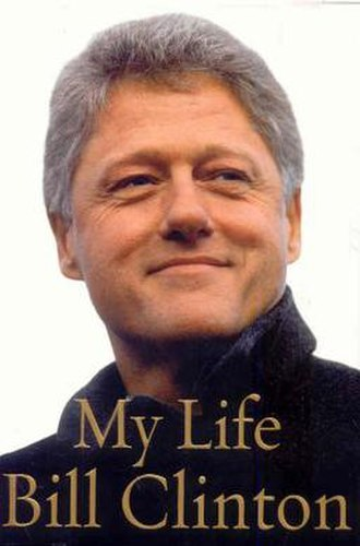My Life (Bill Clinton autobiography) - 1st edition cover