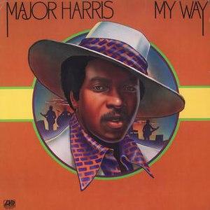 My Way (Major Harris album) - Image: My Way Major Harris album
