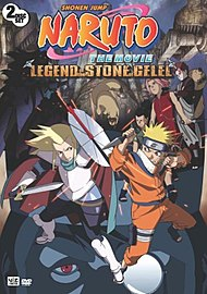 Naruto Movie 2 Legend Stone Gelel 2005