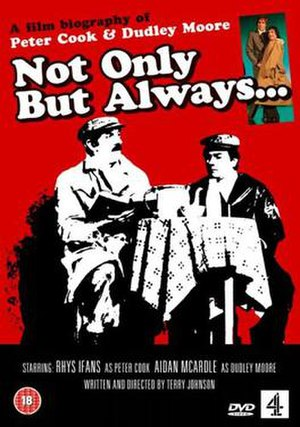 Not Only But Always - DVD cover