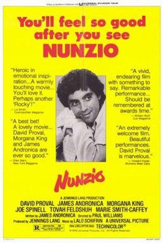 Nunzio (film) - Theatrical release poster