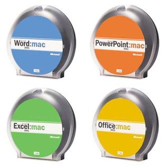 Microsoft Office 2001 - Image: Office 2001