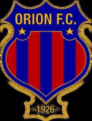 Orión F.C. - Image: Orión F.C. logo