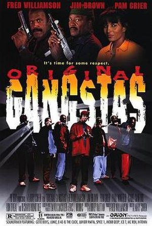 Original Gangstas - Theatrical release poster