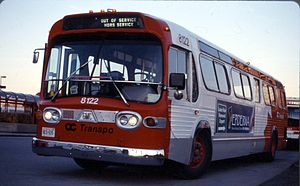 Ottawa OC Transpo '81 GM New look