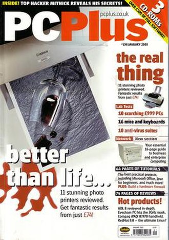 PC Plus - Cover from 2003