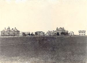 Prairie View A&M University - An early campus photo