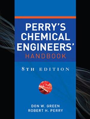 Perry's Chemical Engineers' Handbook - Image: Perryhandbuk