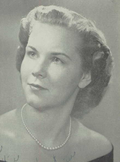 Phyllis Stadler from 1952 Linden Hall yearbook