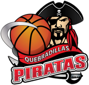 Piratas de Quebradillas - Image: Pirateslogoteam