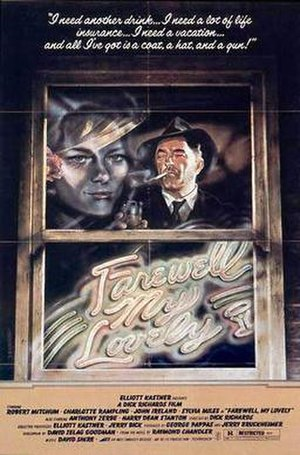 Farewell, My Lovely (1975 film) - Theatrical release poster