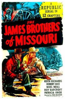 Poster of the movie The James Brothers of Missouri.jpg