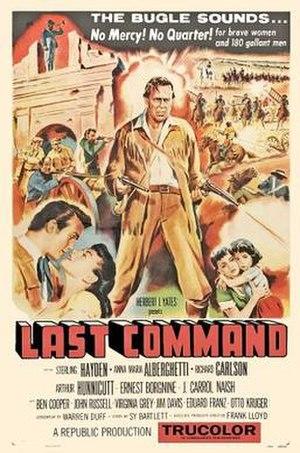 The Last Command (1955 film) - Original Australian film poster