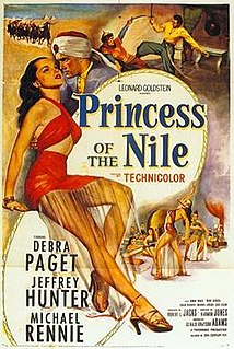 <i>Princess of the Nile</i> 1954 film by Harmon Jones