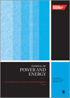 Proceedings of the Institution of Mechanical Engineers, Part A: Journal of Power and Energy - Image: Proceedings of the I Mech E A journal cover
