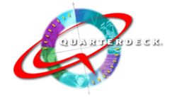 The Quarterdeck logo from 1997.