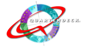 Quarterdeck Office Systems - The Quarterdeck logo from 1997.