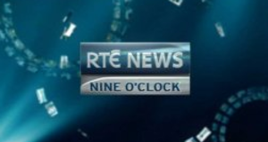 RTÉ News: Nine O'Clock - former ident from 2009-2014