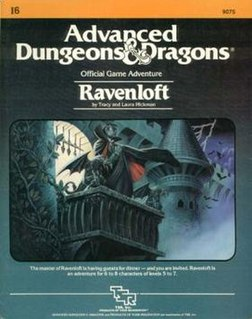 <i>Ravenloft</i> (module) 1983 adventure module for the Dungeons & Dragons game