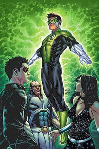 Kyle Rayner - Kyle Rayner as he appears after the Sinestro Corps War and during Countdown to Final Crisis. Art by Talent Caldwell and J.D.Smith.