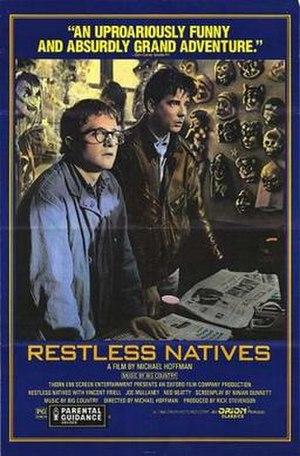 Restless Natives - Film Poster