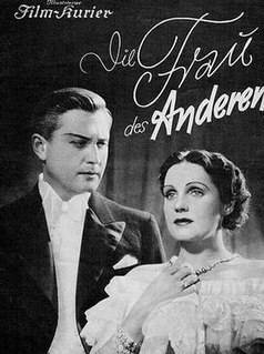 <i>Romance</i> (1936 film) 1936 film by Herbert Selpin