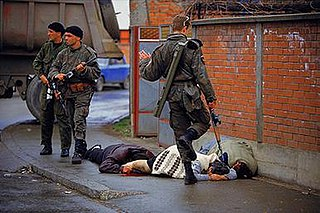 genocidal killing of Bosniaks (Bosnian Muslims) in the town of Bijeljina on 1–2 April 1992 during the Bosnian War