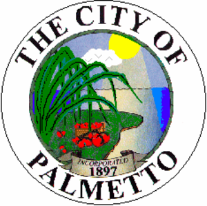Palmetto, Florida - Image: Seal of Palmetto, Florida