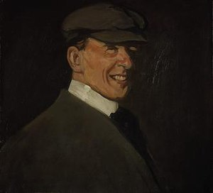 John Duncan Fergusson - Self-portrait by John Duncan Fergusson, c. 1902, oil on canvas, 50.80 x 56.40 cm, The Fergusson Gallery, Perth and Kinross, Scotland
