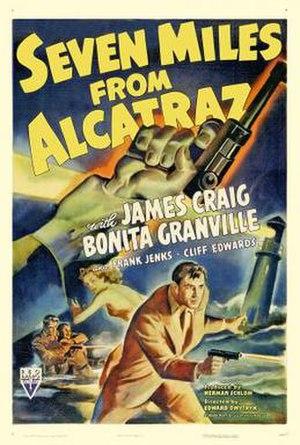 Seven Miles from Alcatraz - Film poster