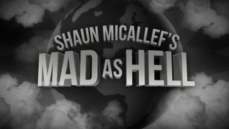 Shaun Micallef's Mad as Hell - Image: Shaun Micallef's Mad as Hell logo