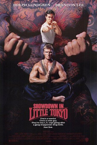 Showdown in Little Tokyo - Theatrical release poster