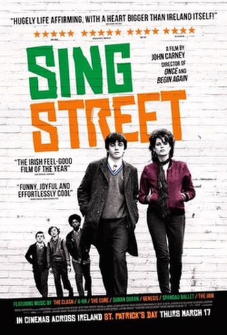 Sing Street - Theatrical release poster