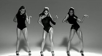 "Single Ladies (Put a Ring on It) - The music video, which incorporates J-Setting choreography, was inspired by the Bob Fosse-choreographed performance by Gwen Verdon in ""Mexican Breakfast""."