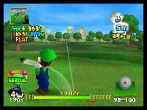 Mario Golf (video game) - Mario Golf is the first game in the series to use 3D computer graphics.