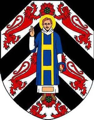 St Leonard's College, St Andrews - Coat of arms of St Leonard's College