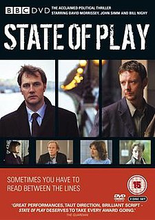 <i>State of Play</i> (TV series) British television drama serial