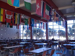The main dining hall of City College of San Francisco