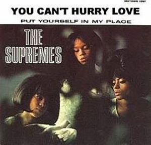You Can't Hurry Love - Image: Supremes You cant hurry love