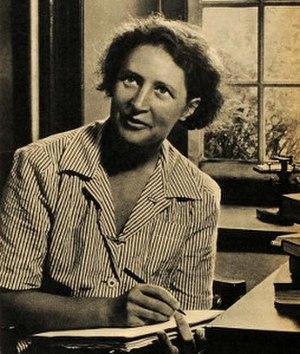 Susanne Langer - Langer in 1945