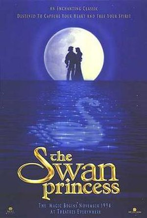 The Swan Princess - Theatrical release poster