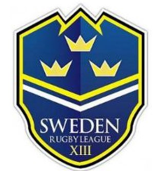 Sweden Rugby League - Image: Sweden Rugby League logo