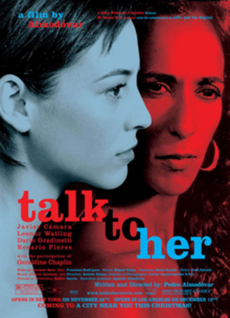 Talk to Her - US theatrical release poster