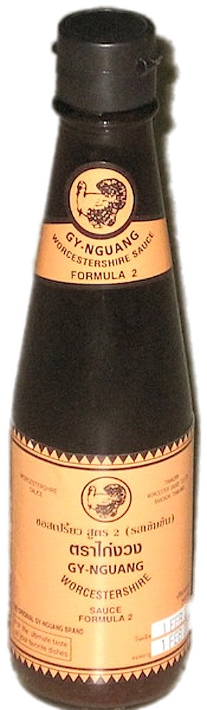Worcestershire sauce - Thai Gy-Nguang brand Worcestershire sauce (2010)